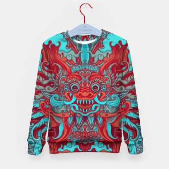 Thumbnail image of Neon Bali Kid's sweater, Live Heroes