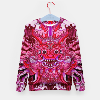 Thumbnail image of Pink Bali Kid's sweater, Live Heroes