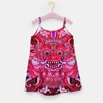 Miniatur Pink Bali Girl's dress, Live Heroes