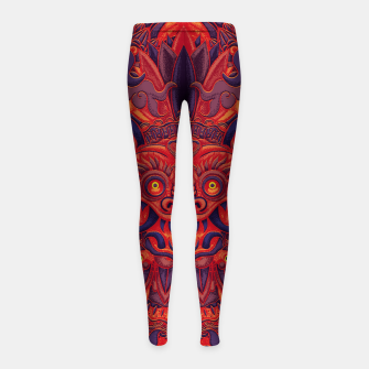Miniatur Red Bali Girl's leggings, Live Heroes