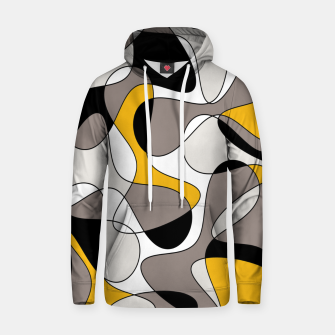 Miniaturka Abstract pattern - orange and gray. Hoodie, Live Heroes