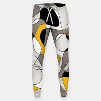 Miniaturka Abstract pattern - orange and gray. Sweatpants, Live Heroes