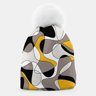 Miniaturka Abstract pattern - orange and gray. Beanie, Live Heroes