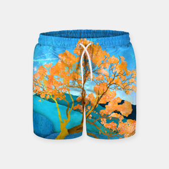 Miniatur One reflection Swim Shorts, Live Heroes