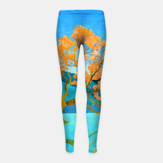 Miniatur One reflection Girl's leggings, Live Heroes