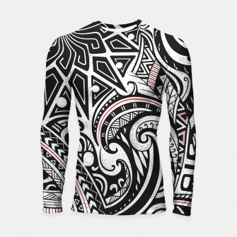 Imagen en miniatura de The world of tribes - variety of species Longsleeve rashguard , Live Heroes