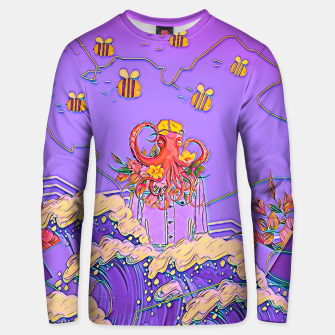 Thumbnail image of Octopus and bees Unisex sweater, Live Heroes