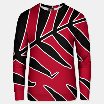 Thumbnail image of Leaves Silhouette Tropical Style Print Unisex sweater, Live Heroes