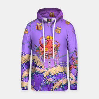 Thumbnail image of Octopus and bees Hoodie, Live Heroes