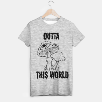Thumbnail image of OUTTA THIS WORLD Camiseta Regular, Live Heroes