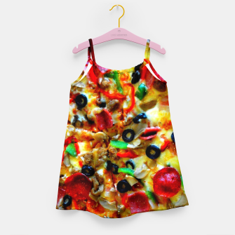 Miniatur PIZZA 7 Girl's dress, Live Heroes