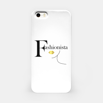 Miniaturka Fashionista Gold iPhone Case, Live Heroes