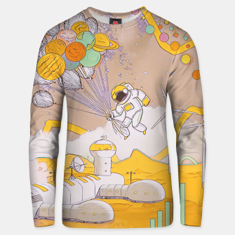 Miniatur On the moon Unisex sweater, Live Heroes