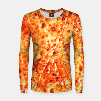 Miniatur PIZZA 11 Women sweater, Live Heroes