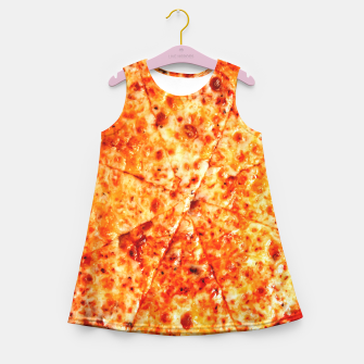 Miniatur PIZZA 11 Girl's summer dress, Live Heroes