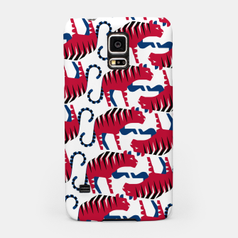 Thumbnail image of Siberian tiger - South Korea flag symbol Samsung Case, Live Heroes