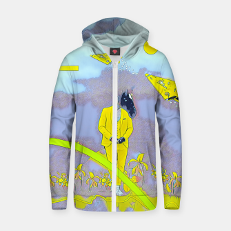 Thumbnail image of Horse Zip up hoodie, Live Heroes