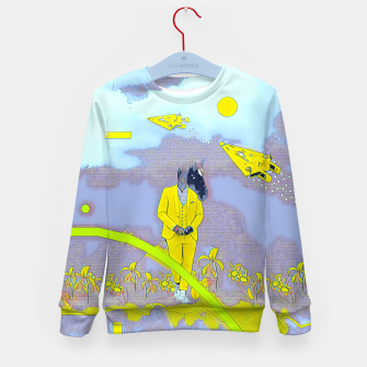 Thumbnail image of Horse Kid's sweater, Live Heroes