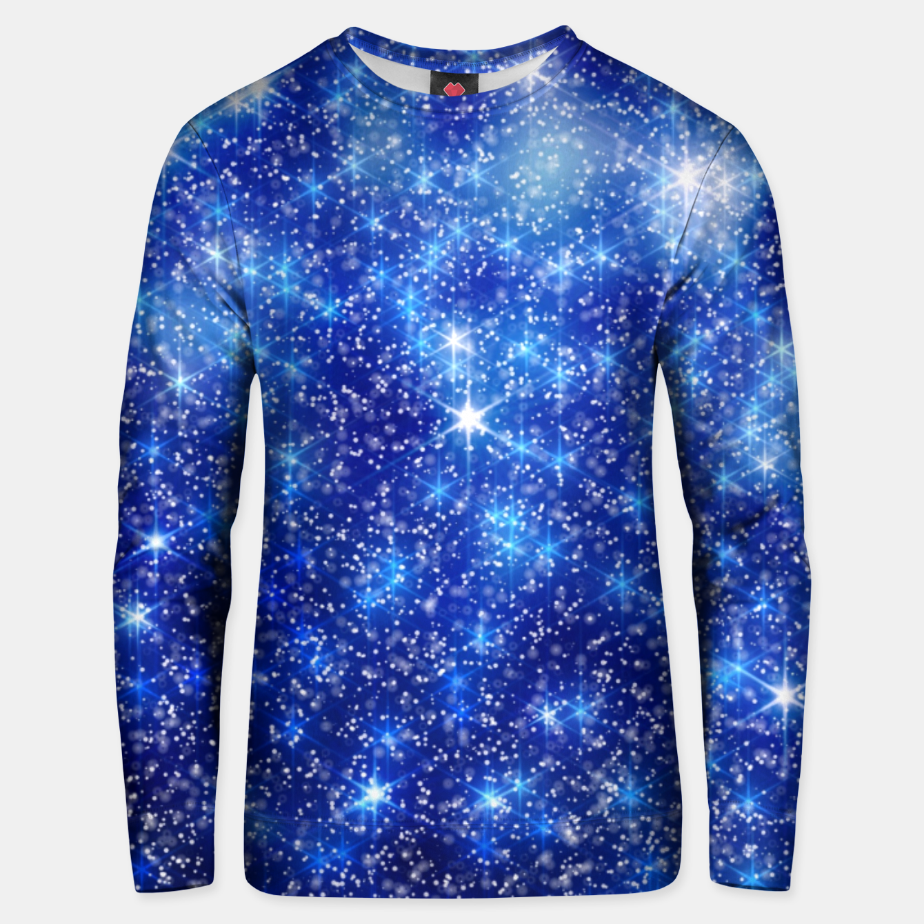 Image of  Blurred Star Snow Christmas Sparkle Sudadera unisex - Live Heroes