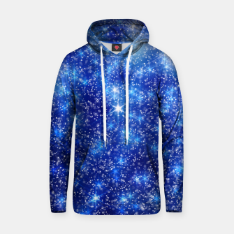 Thumbnail image of  Blurred Star Snow Christmas Sparkle Sudadera con capucha, Live Heroes
