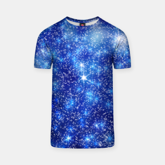 Thumbnail image of  Blurred Star Snow Christmas Sparkle Camiseta, Live Heroes