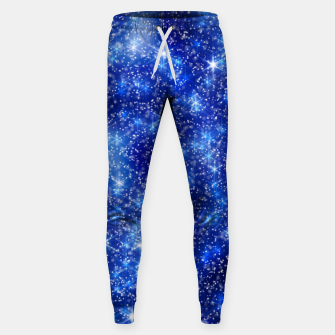 Thumbnail image of  Blurred Star Snow Christmas Sparkle Pantalones de chándal , Live Heroes