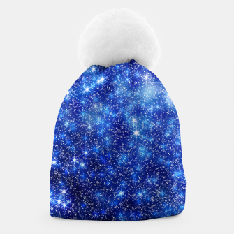 Thumbnail image of  Blurred Star Snow Christmas Sparkle Gorro, Live Heroes