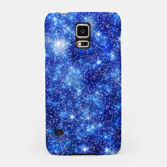 Thumbnail image of  Blurred Star Snow Christmas Sparkle Carcasa por Samsung, Live Heroes
