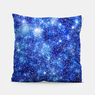Thumbnail image of  Blurred Star Snow Christmas Sparkle Almohada, Live Heroes