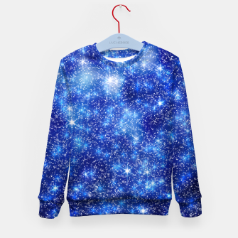 Thumbnail image of  Blurred Star Snow Christmas Sparkle Sudadera para niños, Live Heroes