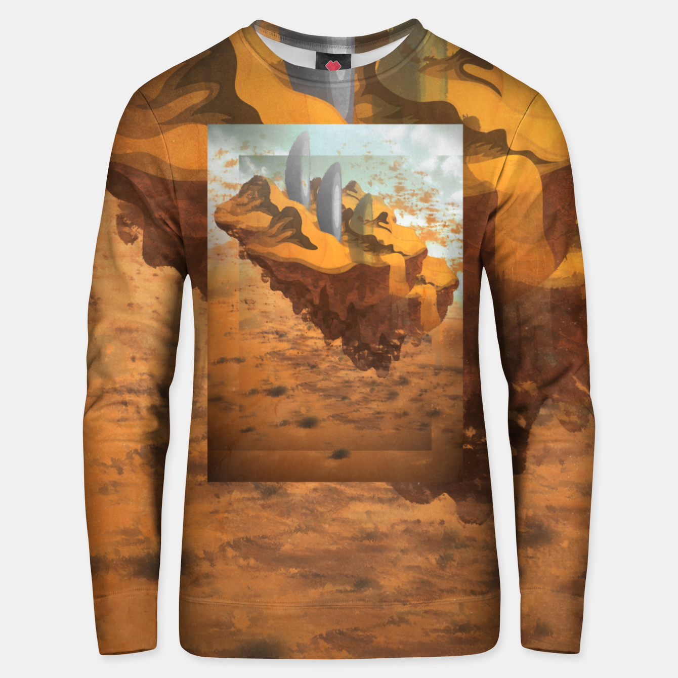 Image of Arrival in the Desert Unisex sweater - Live Heroes