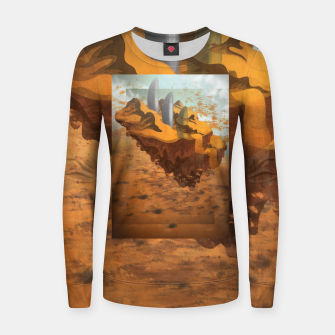 Thumbnail image of Arrival in the Desert Women sweater, Live Heroes