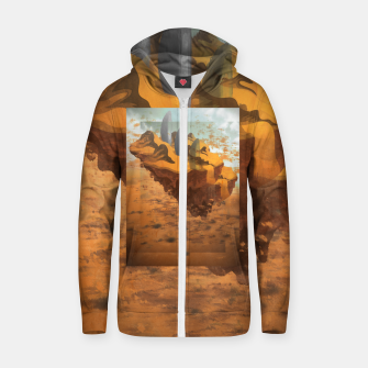 Arrival in the Desert Zip up hoodie thumbnail image