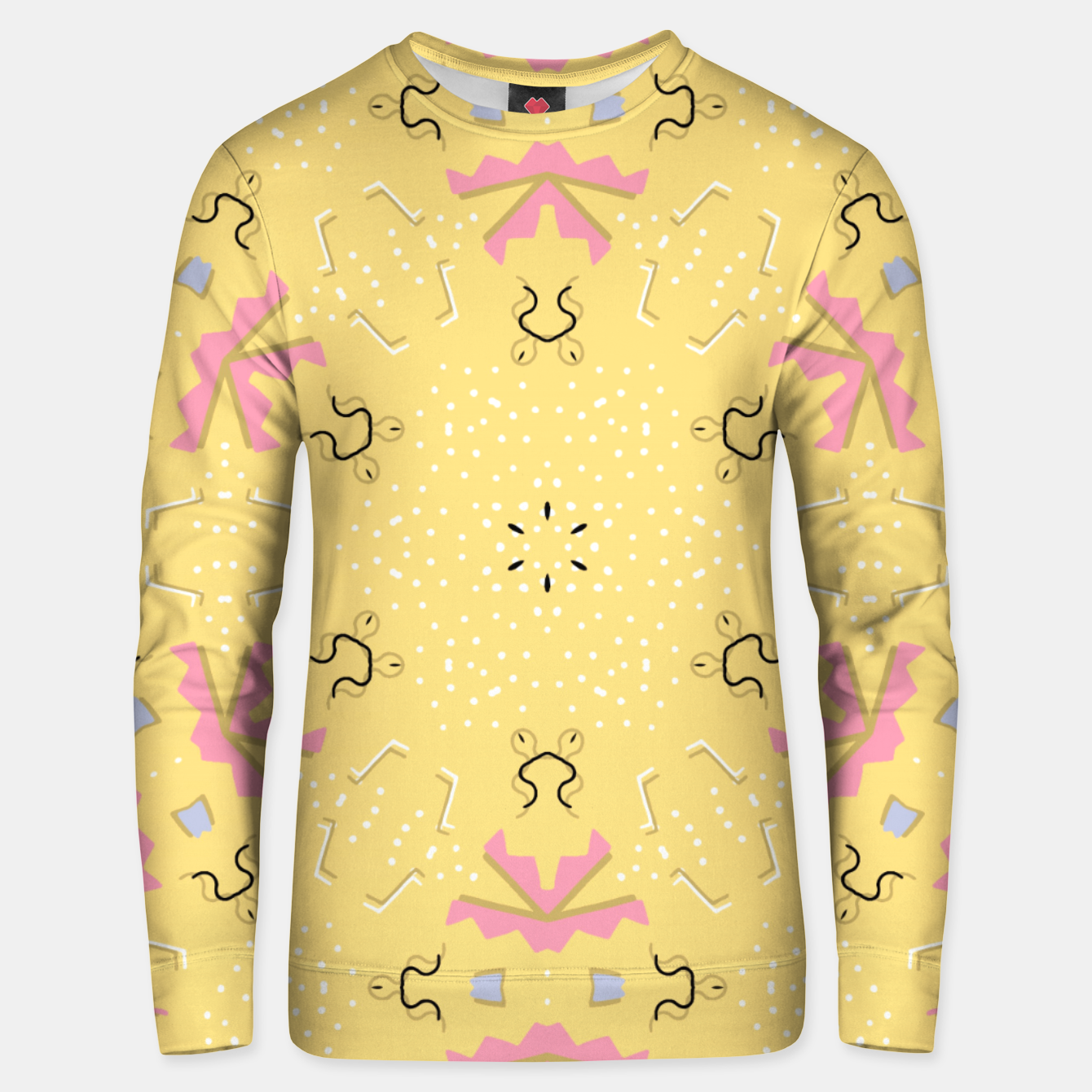Image of Joy Kaleidoscope Mandala Unisex sweater - Live Heroes