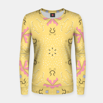 Thumbnail image of Joy Kaleidoscope Mandala Women sweater, Live Heroes