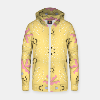 Joy Kaleidoscope Mandala Zip up hoodie thumbnail image