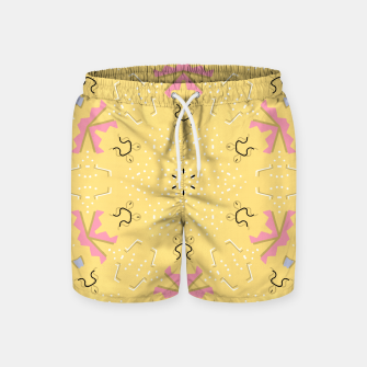 Joy Kaleidoscope Mandala Swim Shorts thumbnail image