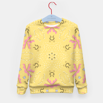 Miniatur Joy Kaleidoscope Mandala Kid's sweater, Live Heroes