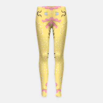 Thumbnail image of Joy Kaleidoscope Mandala Girl's leggings, Live Heroes