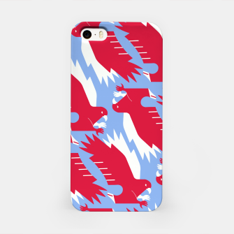 Thumbnail image of White - tailed eagle - Poland flag symbol iPhone Case, Live Heroes
