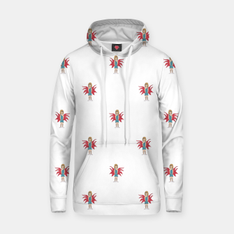 Miniature de image de Fairy Girl Drawing Motif Pattern Design Hoodie, Live Heroes