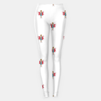 Miniature de image de Fairy Girl Drawing Motif Pattern Design Leggings, Live Heroes