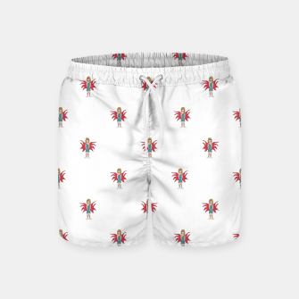Miniaturka Fairy Girl Drawing Motif Pattern Design Swim Shorts, Live Heroes