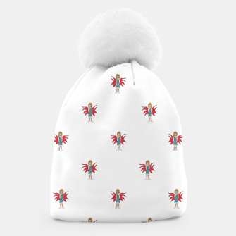 Miniature de image de Fairy Girl Drawing Motif Pattern Design Beanie, Live Heroes