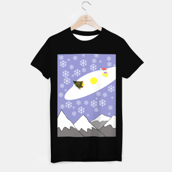 Thumbnail image of Christmas UFO t shirt, Live Heroes