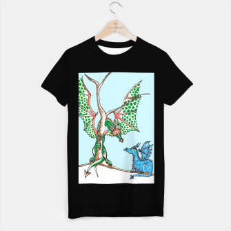 Thumbnail image of Winter dragons t shirt, Live Heroes