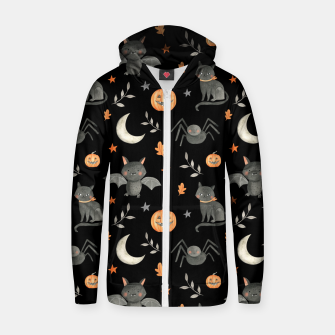 Thumbnail image of HALLOWEEN PARTY Zip up hoodie, Live Heroes