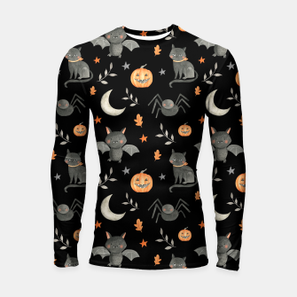 Thumbnail image of HALLOWEEN PARTY Longsleeve rashguard , Live Heroes