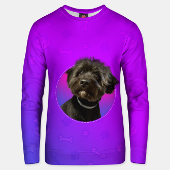 Thumbnail image of Little Black Dog Unisex sweater, Live Heroes