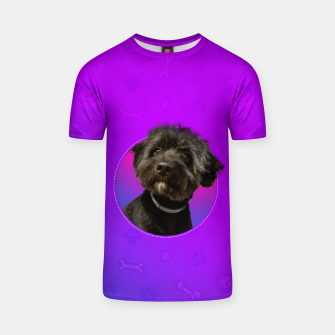 Little Black Dog T-shirt thumbnail image